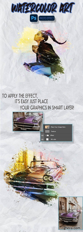 GraphicRiver - Watercolor ART - Photoshop Effect 31232839