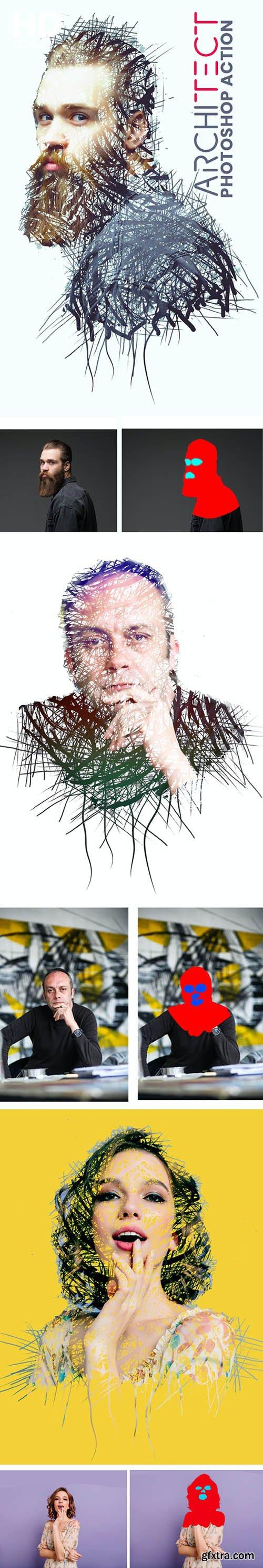 GraphicRiver - Architect Photoshop Action 31024650