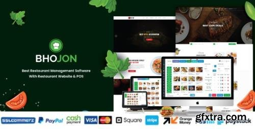 CodeCanyon - Bhojon v2.7 - Best Restaurant Management Software with Restaurant Website - 23525997 - NULLED