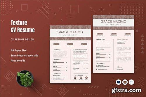 Texture CV Resume