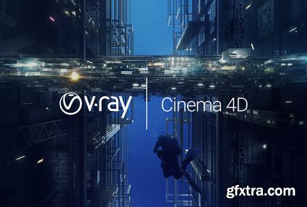 V-Ray Advanced 5.00.45 For Cinema 4D R20-S24 (x64)