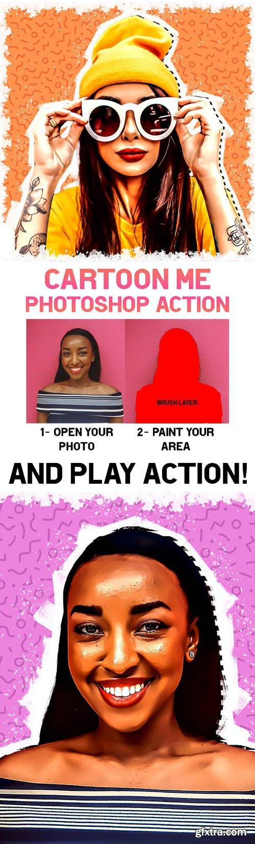 GraphicRiver - Cartoon Me Photoshop Action 30595240