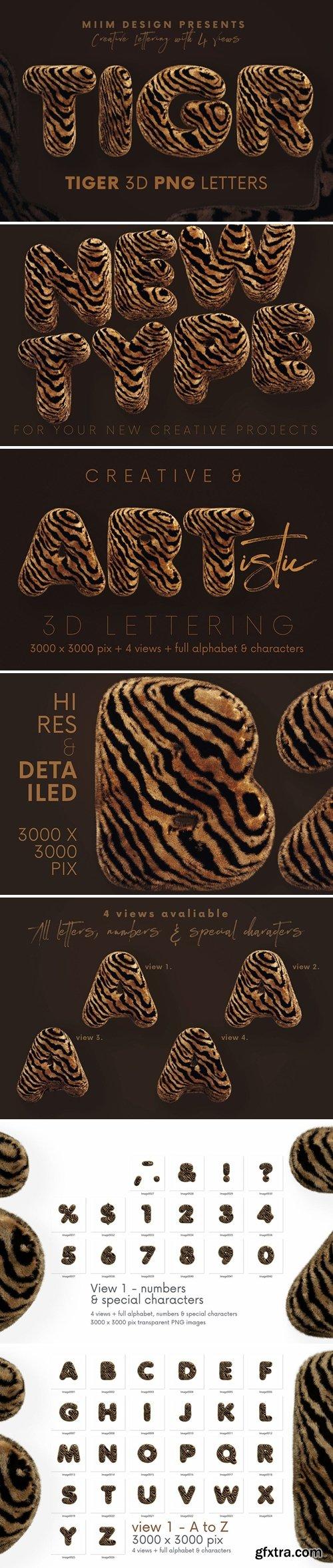 Tiger - 3D Lettering