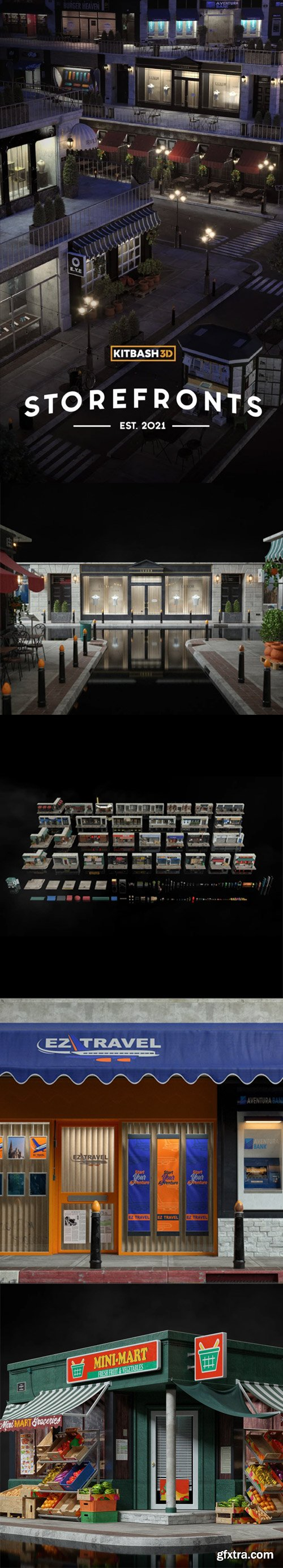 Kitbas3D - Storefronts
