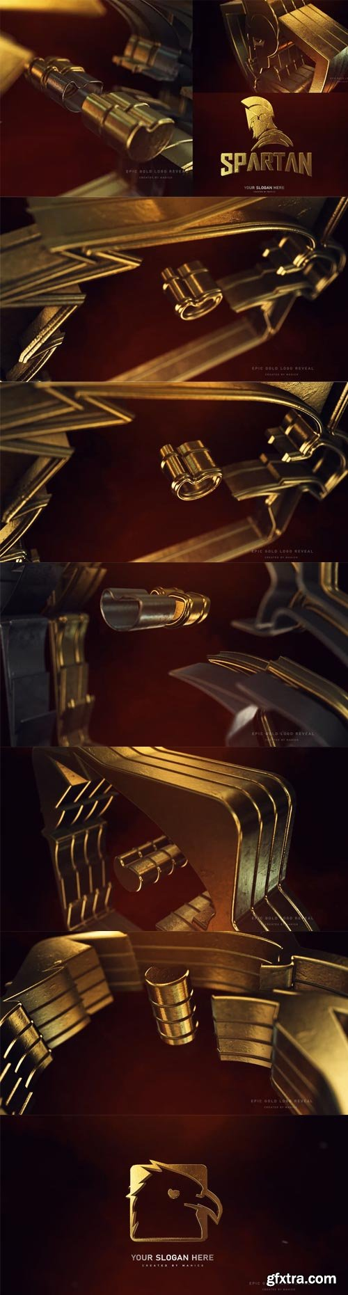 Videohive - Epic Gold Logo Reveal - 31398664