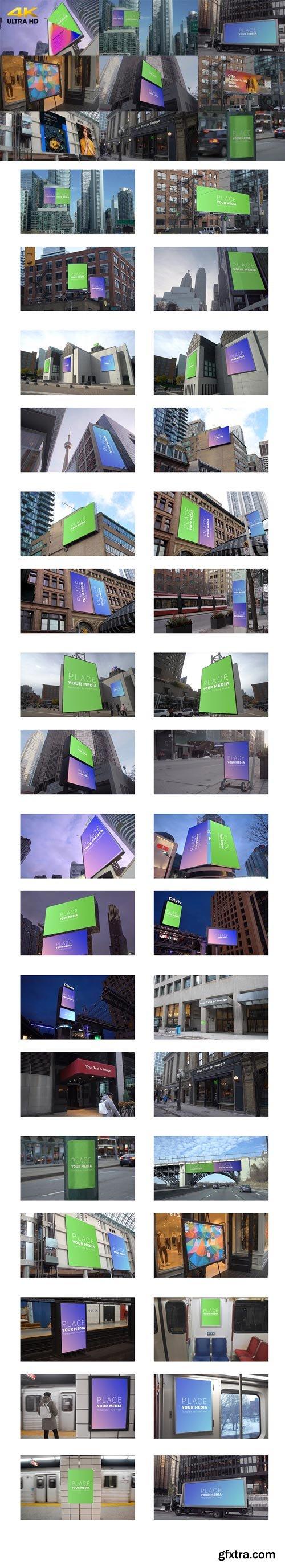 Videohive - City Advertising Mockups - 25782377