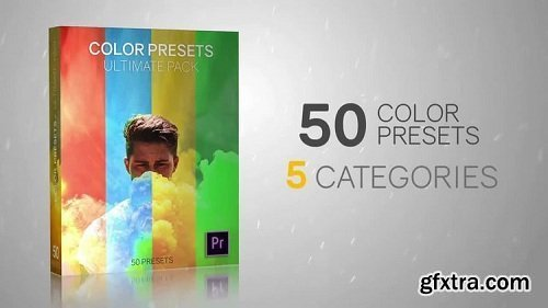 50 Color Presets Ultimate Pack for Adobe Premiere Pro