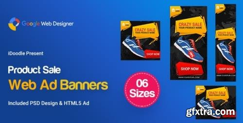 CodeCanyon - C90 - Product Sale Banners HTML5 (GWD & PSD) v1.0 - 24053076