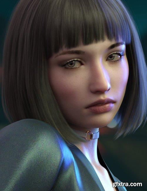Abigail HD for Genesis 8 Female