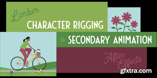 Limber Character Rigging to Secondary Animation in After Effects