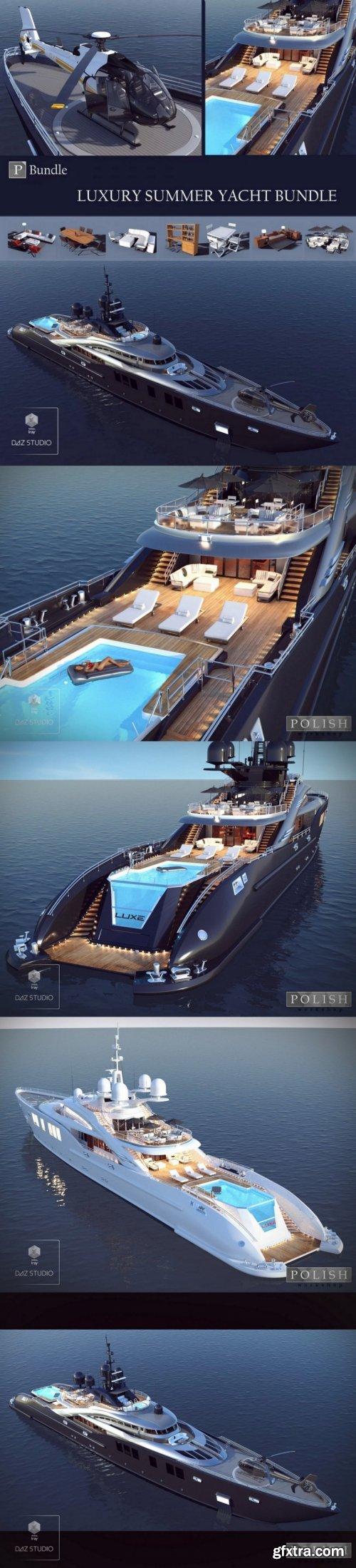 Luxury Summer Yacht Bundle