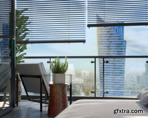 Interior Apartment Scene Sketchup by Nguyen Duong