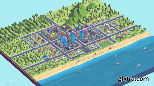 Polygonia Low Poly City Pack