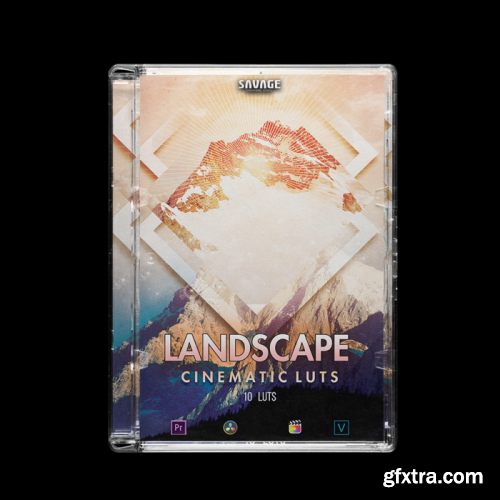 SAVAGELUTS – LANDSCAPE CINEMATIC LUTS PACK