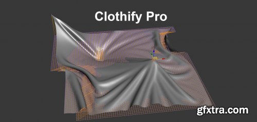 Clothify Pro 1.02 for 3ds max 2013-2022