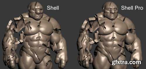 Shell Pro 1.0 for 3ds Max 2013-2022