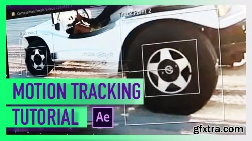 Motion Tracking, Multiple Point Tracker and 3D Camera Tracker with Adobe After Effect