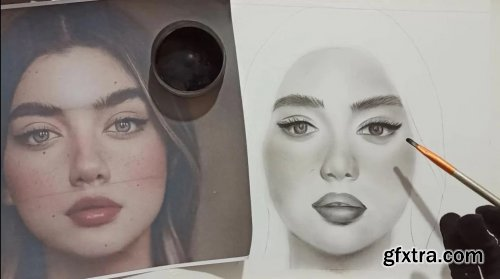 Basic Portrait Sketching Techniques for Beginners