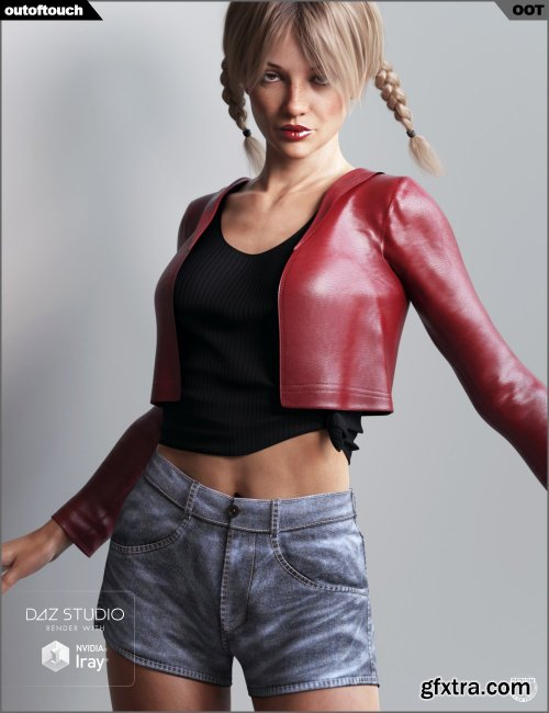 dForce Dallas Closet for Genesis 8 Female(s)