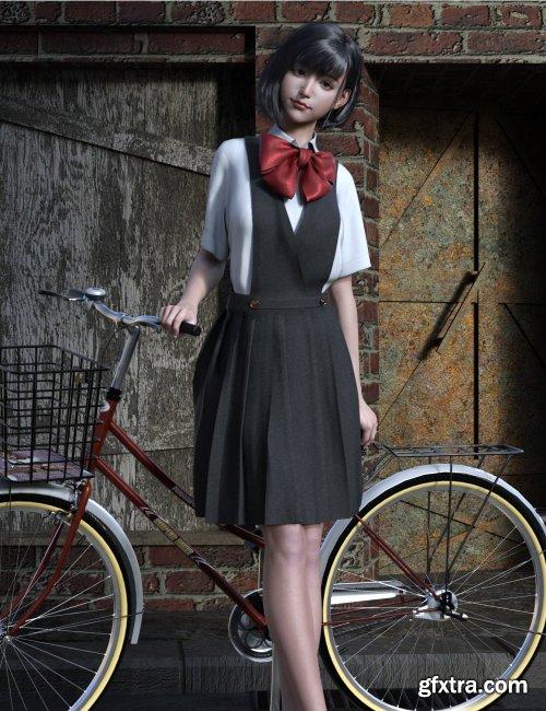 dForce JK Style Dress for Genesis 8 Females