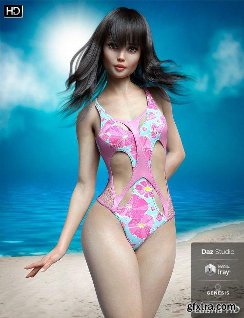 Luana HD for Genesis 8 Female