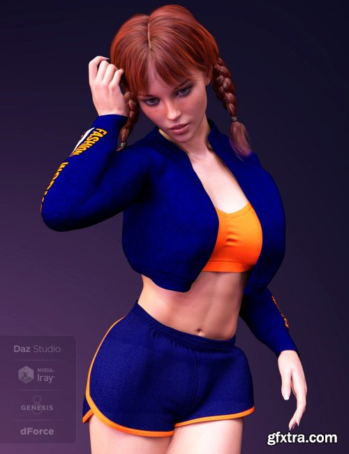 X-Fashion Workout for Genesis 8 Female(s)