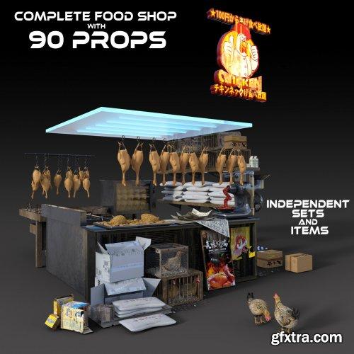 Fried Chicken Store