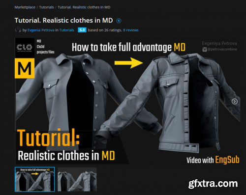 ArtStation – Realistic clothes in Marvelous Designer