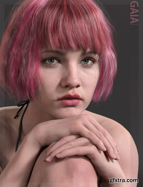 Gaia HD with HD Expression for Genesis 8.1 Female