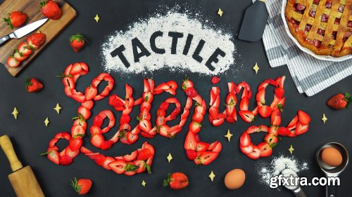 Tactile Lettering: How to Make Art with Food & Objects