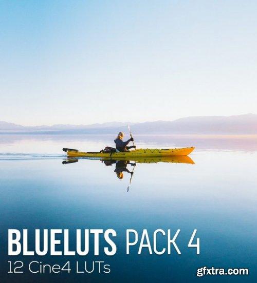 BLUELUTS – PACK 5 – Cine4 LUTS