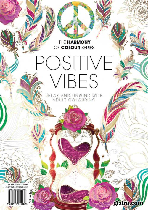 Coloring Book: Positive Vibes, Edition 2021