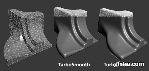 TurboTriSmooth 1.03 for 3ds max