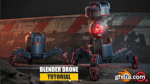 Gumroad – Blender Drone Tutorial – Complete Edition