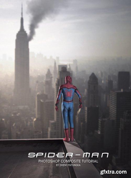 Dheny Patungka - Spiderman Photoshop Compositing Tutorial