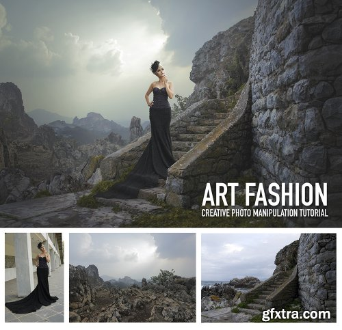 Dheny Patungka - Art Fashion - Creative Photo Manipulation Tutorial