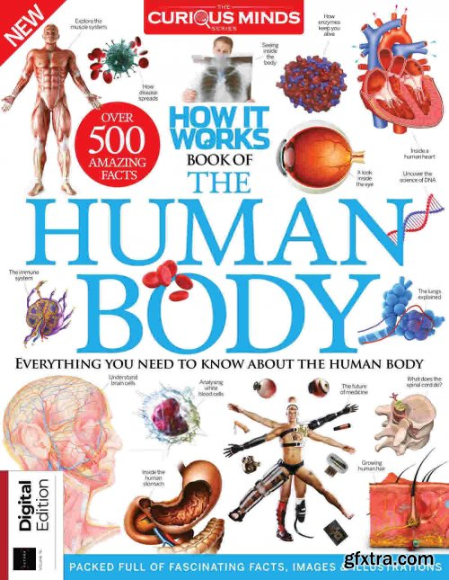 How it Works: Book of The Human Body - 15th Edition, 2021