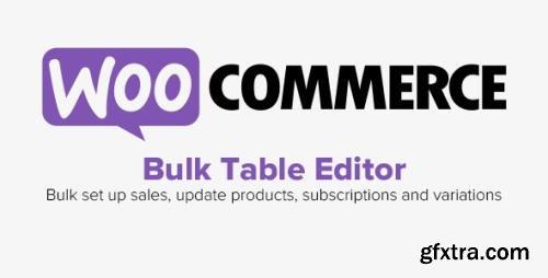 WooCommerce - Bulk Table Editor for WooCommerce v2.1.24