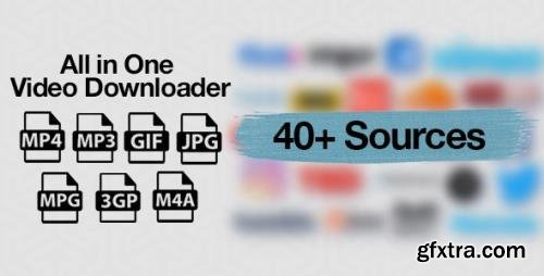 CodeCanyon - All in One Video Downloader Script v1.14.0 - 22599418