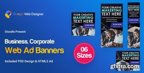 CodeCanyon - C92 - Business Banners HTML5 (GWD & PSD) v1.0 - 24053101