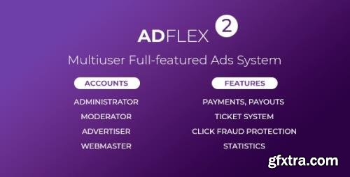 CodeCanyon - AdFlex v2.0.7 - Multi User Full-featured Ads System - 19763852 - NULLED