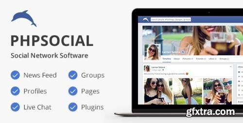 CodeCanyon - phpSocial v6.8.0 - Social Network Platform - 5158794