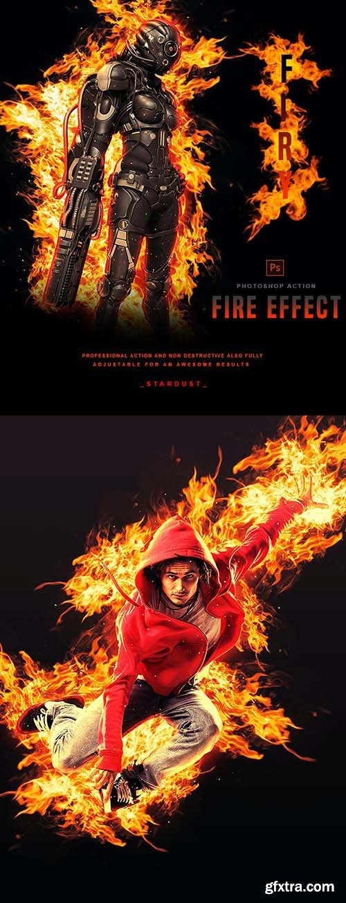 GraphicRiver - Firy - Photoshop Action 31168616