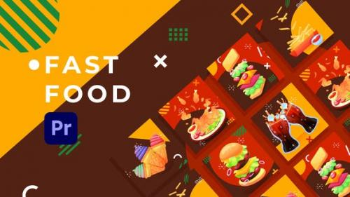Videohive - Fast Food Product Promo | Premiere Pro MOGRT