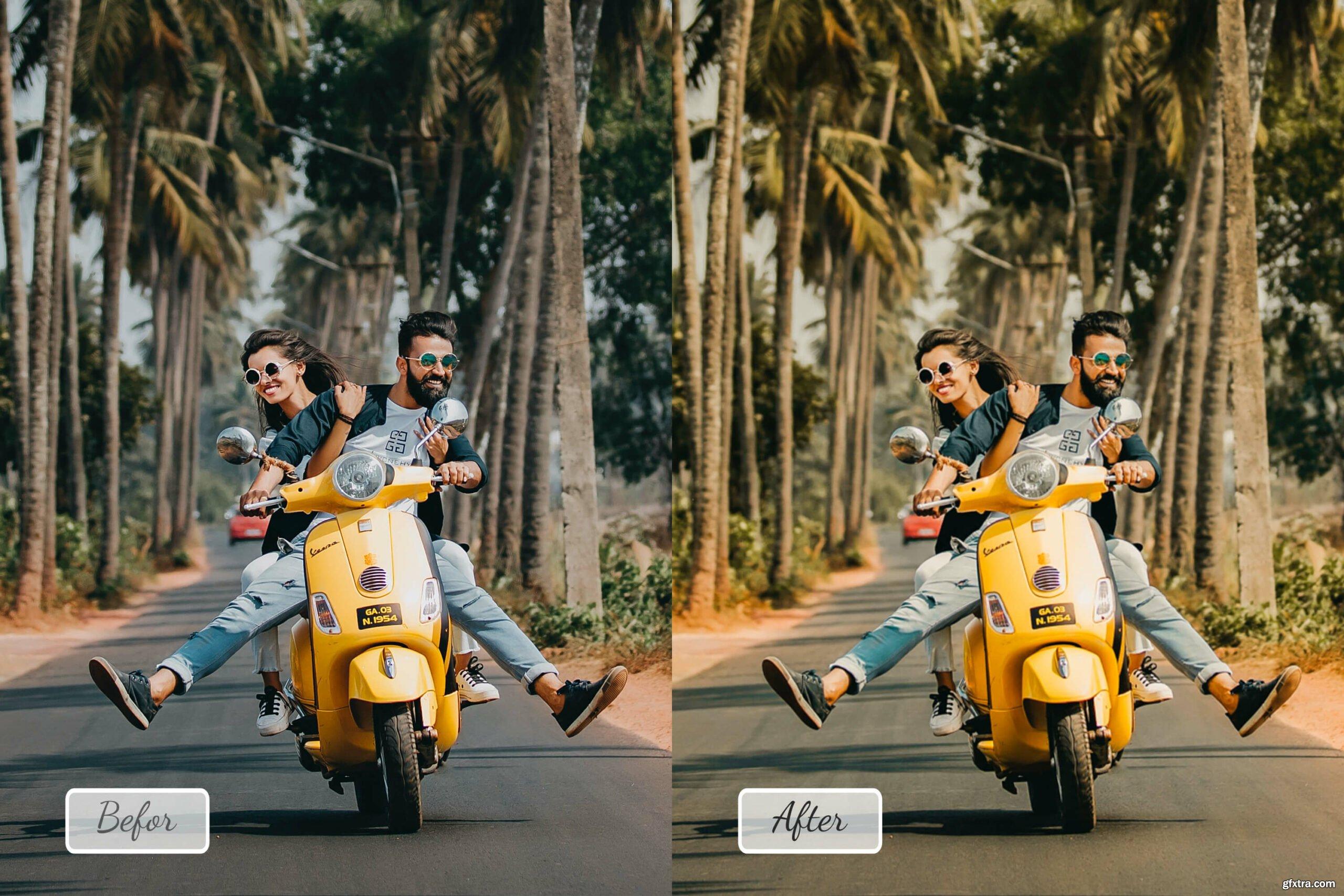07 Pro Bohemian Photoshop Actions, ACR, LUT Presets