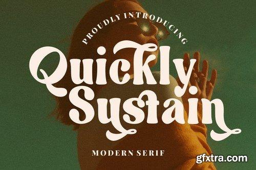 CM - Quickly Sustain Modern Serif 6100544