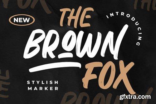 CM - The Brown Fox Stylish Marker 6100536