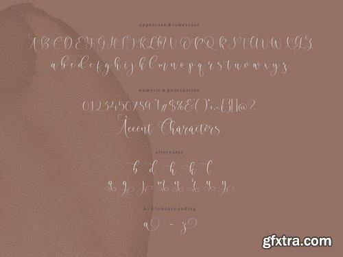 Oakmint Script Font