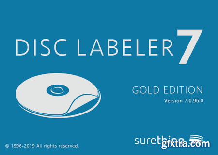SureThing Disk Labeler Deluxe Gold 7.0.96.0 Portable
