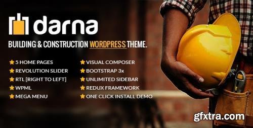 ThemeForest - Darna v1.2.8 - Building & Construction WordPress Theme - 12271216